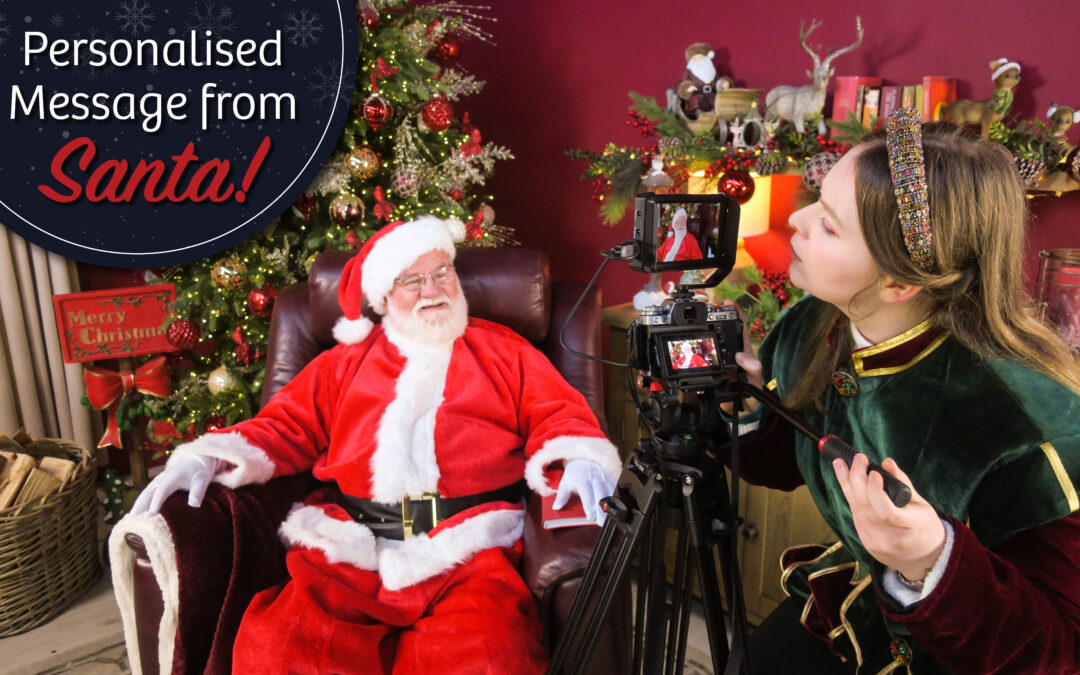 Santa Claus teams up Let's Get Talking for an important message to children