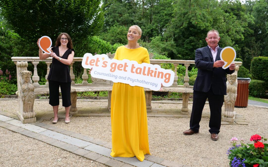"Irish Soprano Celine Byrne, encourages Ireland ""Let's Get Talking"""